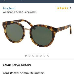 BNWT Tory Burch tortoise sunglasses